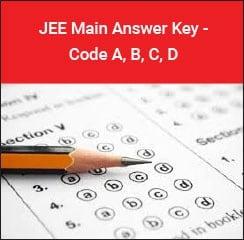 JEE Main Answer Key 2018