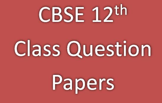 cbse class 12th