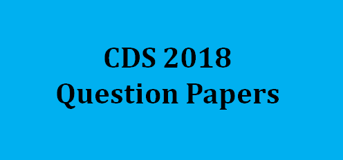 upsc cds question paper 2018