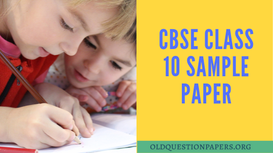 cbse sample papers for class 10 2020 pdf download