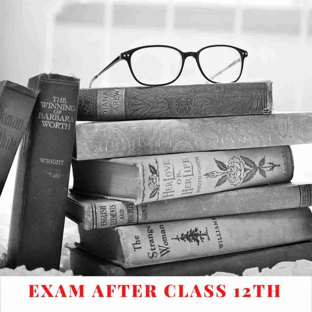 EXAM AFTER CLASS 12